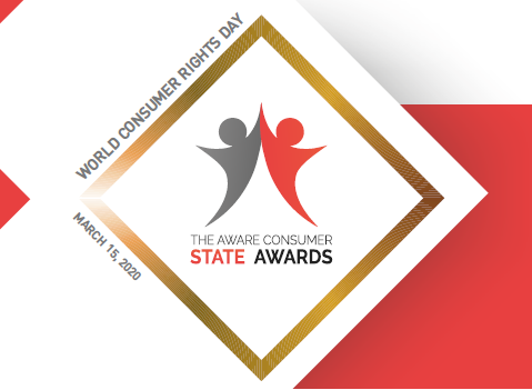 The Aware Consumer STATE AWARDS, March 2020